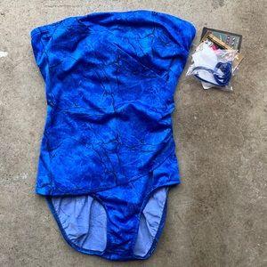 Vintage Jantzen Bathing Suit Pin Up One Piece